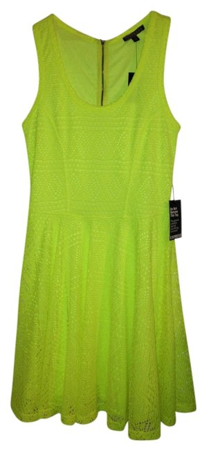 Preload https://item4.tradesy.com/images/express-dress-electric-yellow-722858-0-0.jpg?width=400&height=650