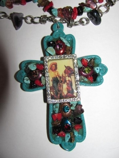 Other PENDANT CROSS WITH PICTURE NECKLACE