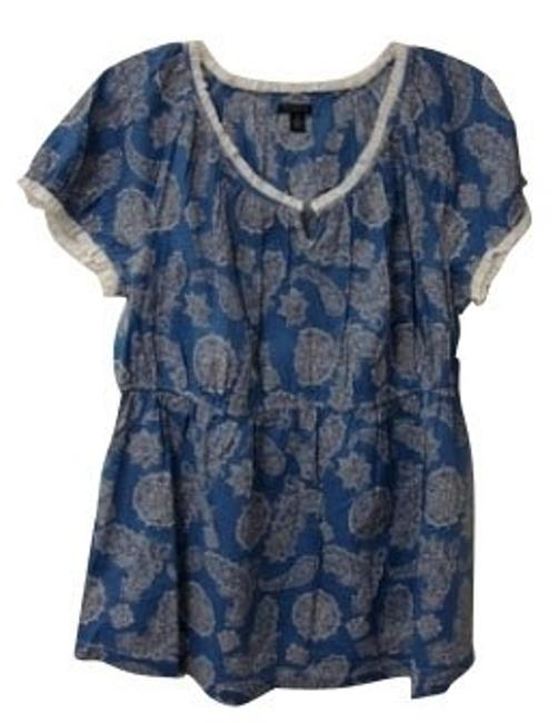 Preload https://item4.tradesy.com/images/tommy-hilfiger-blue-blouse-size-14-l-723-0-0.jpg?width=400&height=650