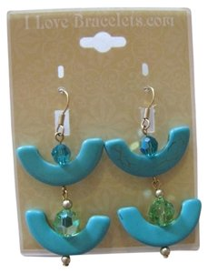 EARRINGS FROMI LOVE BRACELETS.COM NEW--- CURVED PIERCED