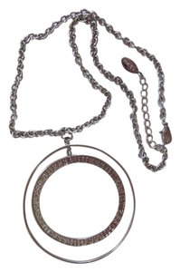 GUESS GUESS CIRCLES SILVER NECKLACE