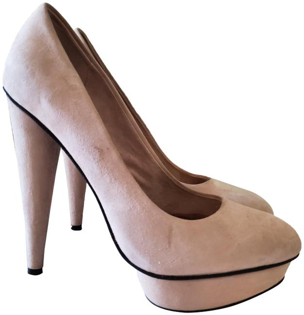 Item - Sand Suede Pumps Size US 8 Regular (M, B)