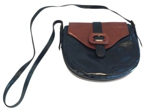 Vintage Satchel in Black / Brown