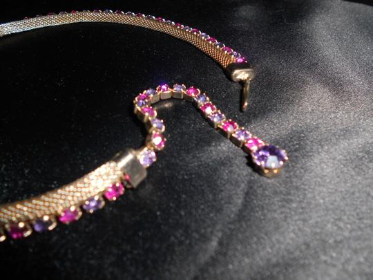 Other WEISS LAVENDER & PINK AB CRYSTAL IN GOLD MESH