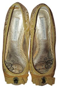 Lovely People Gold Flats
