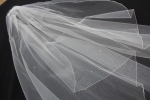 Jennifer Leigh Couture Veils And Accessories Bridal Veil With Swarovski Crystals (by Jennifer Leigh) - Never Worn!!