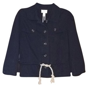 Ann Taylor LOFT Nautical Navy Blazer