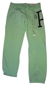 PINK by Victoria's Secret Capris seafoam green