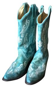 Corral Teal Boots
