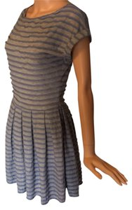 Max Studio short dress Gray/blue on Tradesy