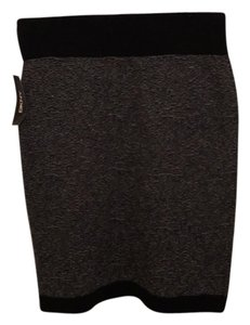 DKNY Skirt Black and Grey