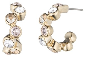 Givenchy Givenchy Crystal Hoop Earrings