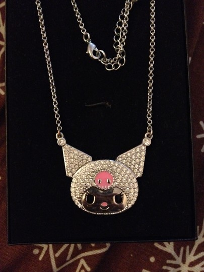 Hello Kitty Kuromi Rhinestone Necklace: Stripe