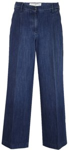 Chanel Trouser/Wide Leg Jeans-Medium Wash