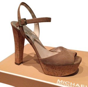 Michael by Michael Kors Khaki Platforms
