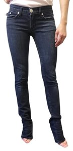 Rock & Republic And Blue Faded Straight Leg Jeans-Medium Wash