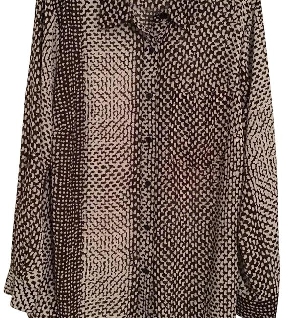 Preload https://img-static.tradesy.com/item/7243450/michael-michael-kors-brownwhite-mixed-print-button-front-blouse-size-18-xl-plus-0x-0-3-650-650.jpg