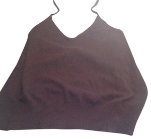 H&M Sweater Like New Brown Halter Top