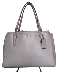 Coach F34672 Satchel in grey