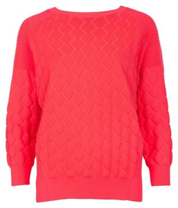 Ted Baker 3/4 Sleeve Neon New With Tag Sweater