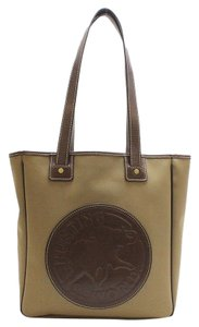 Hunting World Safari Leather Tote Shopper Shoulder Bag