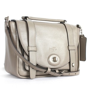 Coach Bleeker F32279 grey Messenger Bag