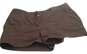 Halogen Mini/Short Shorts Olive green