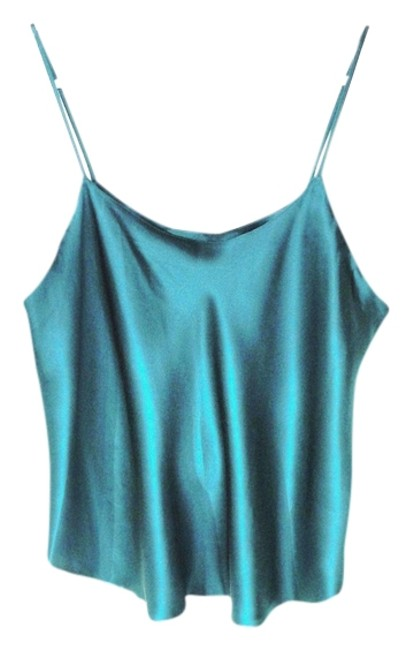 Preload https://item5.tradesy.com/images/tealpeacock-green-silk-charmeuse-camisole-tank-topcami-size-12-l-724649-0-0.jpg?width=400&height=650