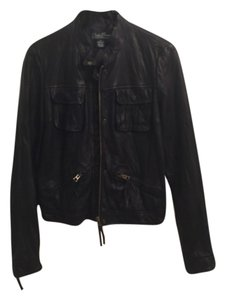 Lucky Brand Blac Leather Jacket