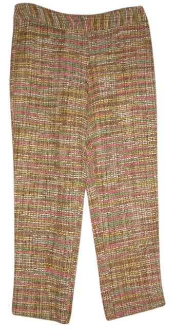 Sara Campbell New Silk Tweed Pastel Spring Capris