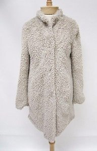 Kenneth Cole Womens Soft Beige Jacket