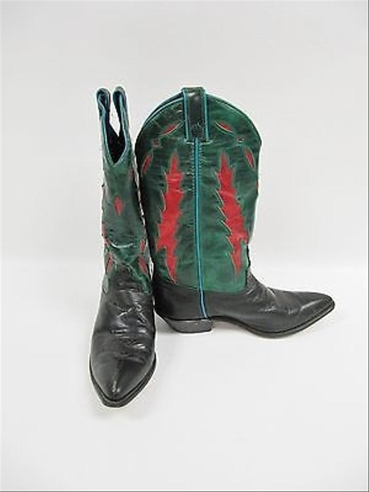 Corral Boots Multi Color Brown Python Short Top Urban ...  |Cowboy Boots With Colored Tops