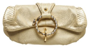 Tod's Cream and Gold Clutch