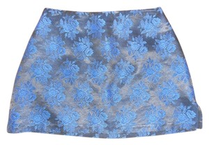 Rampage Mini Mini Skirt ROYAL BLUE