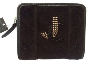 Juicy Couture JC Velveteen Quilted Wallet