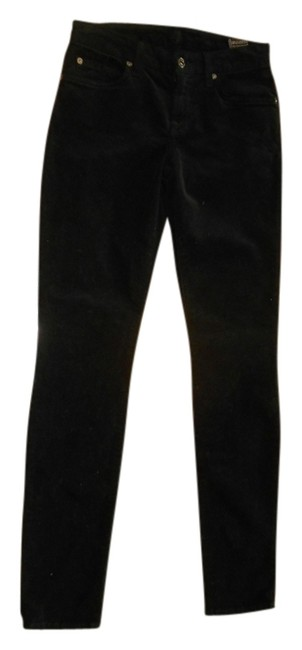 Preload https://img-static.tradesy.com/item/725046/7-for-all-mankind-black-dark-rinse-corduroy-skinny-jeans-size-25-2-xs-0-0-650-650.jpg
