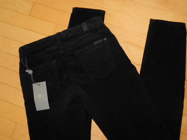 7 For All Mankind Size 25 Corduroy Skinny Jeans-Dark Rinse