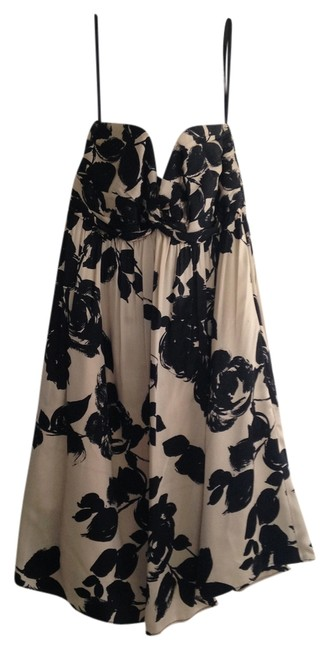 Preload https://item4.tradesy.com/images/milly-black-and-cream-sweetheart-neckline-ruche-short-formal-dress-size-2-xs-725183-0-0.jpg?width=400&height=650