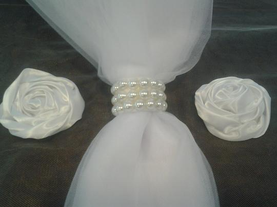 100 Pearl Wedding Reception Party Decoration Napkin Rings