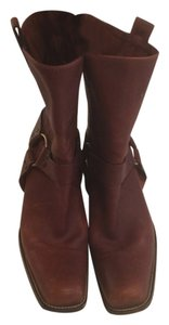 Michael Kors Leather Size 11 brown Boots