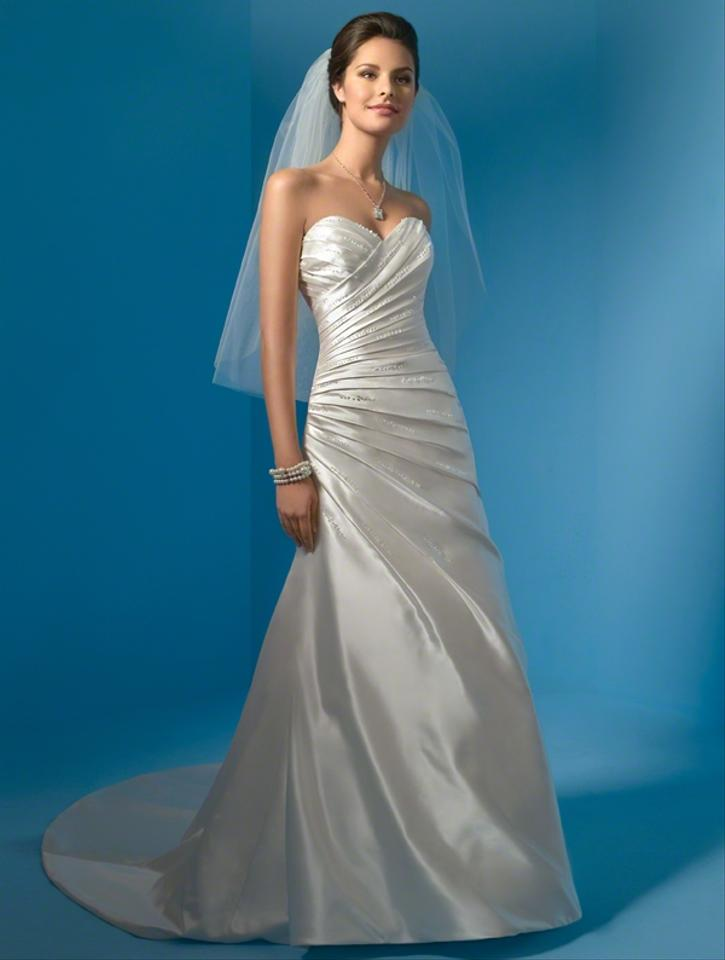 Alfred angelo style 2031 wedding dress tradesy weddings for D angelo wedding dresses