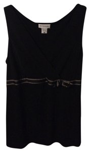 Motherhood Maternity Black Sleeveless Maternity Top Large