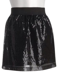 Romeo & Juliet Couture Small New Girly Skirt Black