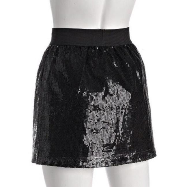 Romeo & Juliet Couture Cute Small New Girly Skirt Black