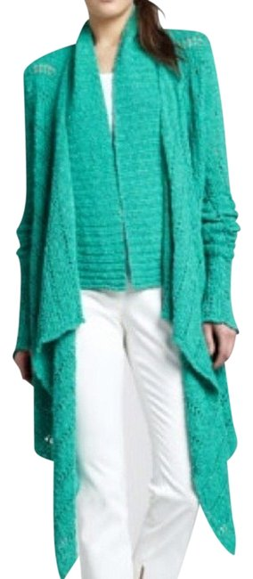 Preload https://item1.tradesy.com/images/rachel-zoe-turquoise-thick-cardigan-size-6-s-726050-0-0.jpg?width=400&height=650