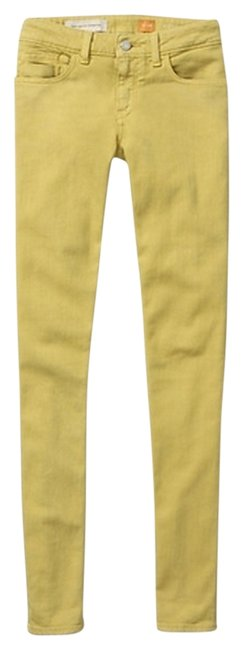 Item - Green Pilcro Stet Straight Leg Jeans Size 28 (4, S)