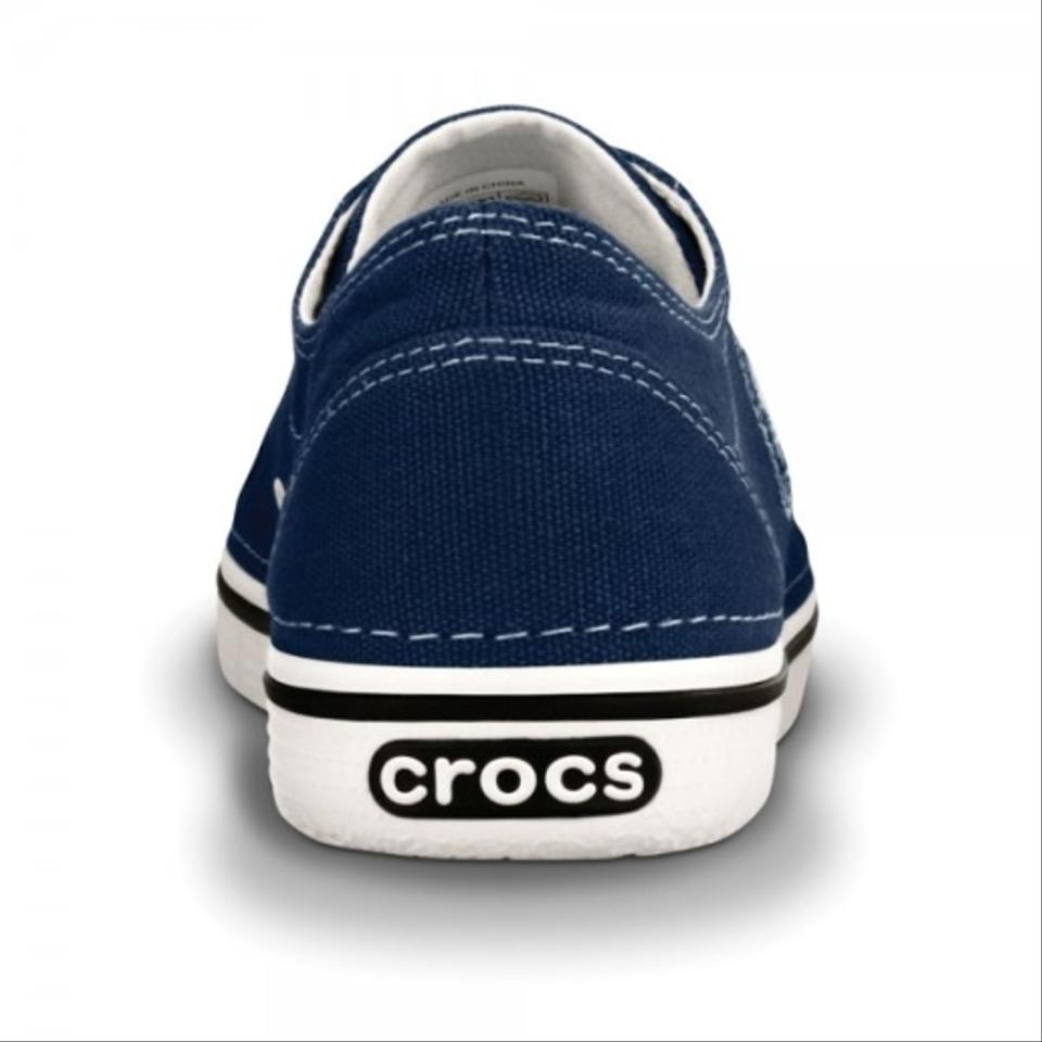 crocs navy oyster athletic s hover size 8 crocs