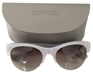 Oliver Peoples New OLIVER PEOPLES SUNGLASSES-LOUELLA-Silver Grey-MSRP-$375