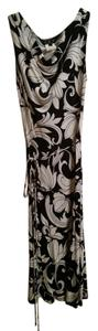 A.B.S. by Allen Schwartz short dress Floral, dark navy and white Floral on Tradesy