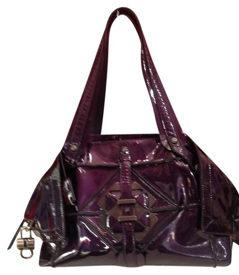 Salvatore Ferragamo Satchel in Plum